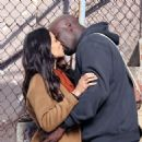 Mike Colter and Rosario Dawson