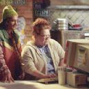Jan (Conchata Ferrell) and Murph (Peter Dante) are Deeds trusty employees in Columbia's Mr. Deeds - 2002
