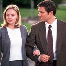 Hope Davis and Loren Dean in Touchstone's Mumford - 9/99