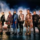 Janeane Garofalo, Kel Mitchell, Wes Studi, William H. Macy, Paul Reubens, Ben Stiller and Hank Azaria are the Universal's Mystery Men - 1999 - 350 x 231
