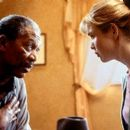 Morgan Freeman and Renee Zellweger in USA Films' Nurse Betty - 2000