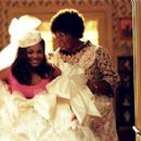 Denise Gains (Janet Jackson) and Mama Klump (Eddie Murphy) in Universal's Nutty Professor II: The Klumps - 2000