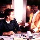 Lance Bass and Al Green in Miramax's On The Line - 2001