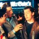 GQ, James Bulliard, Lance Bass and Joey Fatone in Miramax's On The Line - 2001