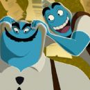 Joel Silver and Chris Rock in Warner Brothers' Osmosis Jones - 2001