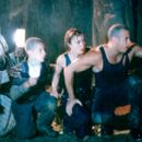 Keith David, Rhiana Griffith, Radha Mitchell and Vin Diesel in USA Films' Pitch Black - 2/2000