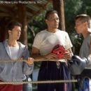 Clifton Collins Jr., Jimmy Smits and Jon Seda in New Line's Price Of Glory - 2000