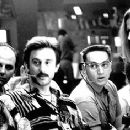 Kurt Fuller, Jake Weber, Matt Ross and Vicki Lewis in Pushing Tin - 350 x 236