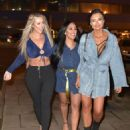 Sophie Kasaei, Holly Hagan and Abbie Holborn – Night out in Newcastle - 454 x 565