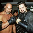 Bill Goldberg and Oliver Platt in Warner Brothers' Ready To Rumble - 2000 - 400 x 260