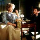 Ellen Burstyn and director Darren Aronofsky on the set of Artisan's Requiem For A Dream - 2000