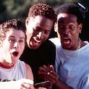 Jon Abrahams, Shawn Wayans and Marlon Wayans in Dimension's Scary Movie - 2000
