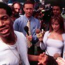 Marlon Wayans and Cheri Oteri in Dimension's Scary Movie - 2000