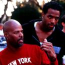 Director Keenen Ivory Wayans and Shawn Wayans on the set of Dimension's Scary Movie 2 - 2001