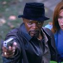Samuel L. Jackson and Toni Collette in Paramount's Shaft - 2000