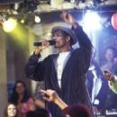 Rap and hip hop star SNOOP DOGG performs at the inaugural party of the new off-campus frat house