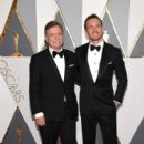 Michael Fassbender-February 28, 2016-88th Annual Academy Awards - Red Carpet Pictures