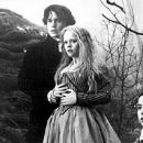 Johnny Depp, Christina Ricci and Marc Pickering in Paramount's Sleepy Hollow - 11/99