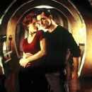 Carla Gugino and Antonio Banderas in Dimension's Spy Kids - 2001