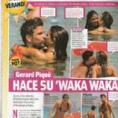 Nuria Tomas And Gerard Pique In Greece