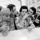 Saverio Guerra, Brian Tarantina, John Leguizamo, Ken Garito and Michael Rispoli in Summer Of Sam