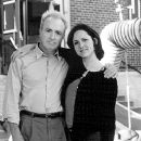 Lorne Michaels, producer, with Molly Shannon, the star and creator of the lead character in Superstar - 10/99