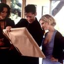 Jennifer Beals, Alan Cumming and Jennifer Jason Leigh in Fine Line's The Anniversary Party - 2001