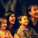Greta Kline, Phoebe Cates, Owen Kline and Kevin Kline in Fine Line's The Anniversary Party - 2001 - 400 x 266