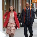 Keira Knightley film scenes for the upcoming movie 'Collateral Beauty' in New York City, New York on April 1, 2016 - 454 x 575
