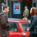 Matt Damon and Franka Potente in Universal's The Bourne Identity - 2002