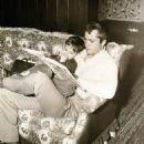 John Derek and son Russell, 1955 - 454 x 572