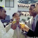 L to R: Celebrating friendship, Jackson (Morris Chestnut), Derrick (D.L. Hughley), Brian (Bill Bellamy) and Terry (Shemar Moore) make a toast to their future in Gary Hardwick's The Brothers from Screen Gems - 2001