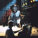 Zeb Zoober, fiddle master, performs for the camera in Walt Disney's The Country Bears - 2002