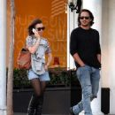 Lily Collins and Matt Easton Out in West Hollywood (November 3, 2014)