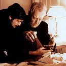 Jason Miller and Max Von Sydow in Warner Brothers' The Exorcist - 1973