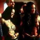 Michelle Rodriguez and Jordana Brewster in Universal's The Fast and The Furious - 2001