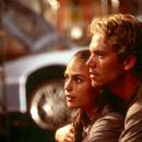 Jordana Brewster and Paul Walker in Universal's The Fast and The Furious - 2001