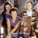 Maritza Murray, Megan Kuhlmann, Rob Schneider, Alexandra Holden, Anna Faris and Samia Doumit in Touchstone's The Hot Chick - 2002