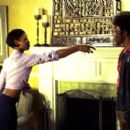 Tamala Jones as Teresa and Tim Meadows as Leon Phelps in Paramount's The Ladies Man - 2000