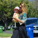 Jessica Alba: spent the day out with friends in Pacific Palisades