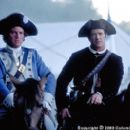 French Major Jean Villenueve (Tcheky Karyo, left) and Benjamin Martin (Mel Gibson) become unlikely allies during the American Revolution in the Columbia Pictures presentation, The Patriot - 2000 - 400 x 267