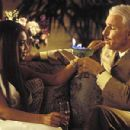 Beyonce Knowles (Xania) and Steve Martin (Inspector Jacques Clouseau) in MGM/Columbia Pictures' The Pink Panther