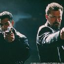 Carlos Gomez and Michael Rooker in The Replacement Killers