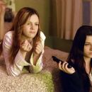 Amber Tamblyn and Rachael Bella in Dreamworks' The Ring - 2002