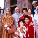 Luke Wilson, Gwyneth Paltrow, Gene Hackman, Grant Rosenmeyer, Ben Stiller, Jonah Meyerson, Anjelica Huston, Danny Glover and Kumar Pallana in Touchstone's The Royal Tenenbaums - 2001