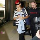 Rihanna - At LAX Airport - July 9, 2010