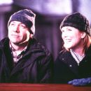Kevin Spacey and Julianne Moore in Miramax's The Shipping News - 2001