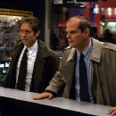 James Spader as Joel and Chris Ellis as Hollis in Universal's The Watcher - 2000