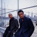 Ja Rule and Pras in New Line's street-action film Turn It Up - 2000