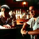 Vincent Pastore and Michael Rispoli in Lions Gate's Two Family House - 2000